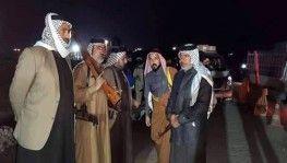 Irak'ın Zikar kentinde aşiretler kontrol noktası kurdu