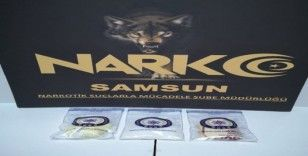 Samsun'da otele uyuşturucu operasyonu: 5 gözaltı