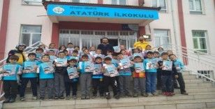 Hisarcık'ta ilkokul öğrencilerine 112 Acil Çağrı Merkezi tanıtıldı