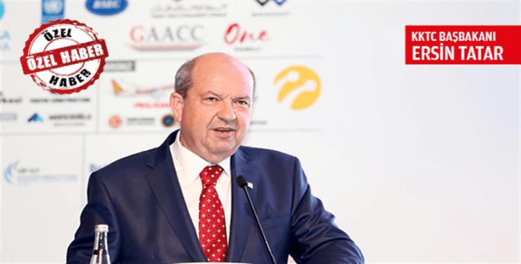 KKTC Başbakanı Tatar: 'Doğu Akdeniz'de haklarımızdan vazgeçmeyeceğiz'