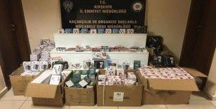 Kırşehir'de kaçak ilaç ve teknolojik ürünler ele geçirildi