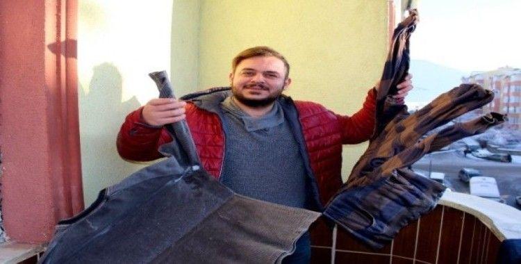 Erzurum'da kar yerini soğuk havaya bıraktı: Eksi 12