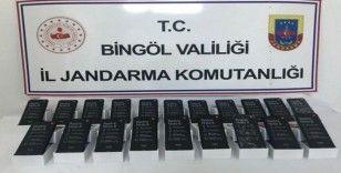 Bingöl'de Kaçakçılıkla Mücadele