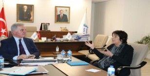 New England Yükseköğretim Komisyonu Başkanı Prof. Dr. Brittingham, YÖKAK'ı ziyaret etti