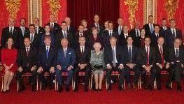 Cumhurbaşkanı Erdoğan, Buckingham Sarayı'nda
