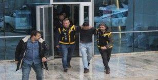 Polisi vuran zanlı adliyeye sevk edildi