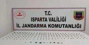 Isparta'da 162 parça tarihi eser geçirildi