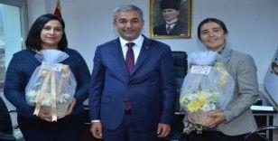 Başkan Kaplan, Koçarlı'da seçimle göreve gelen kadınları unutmadı