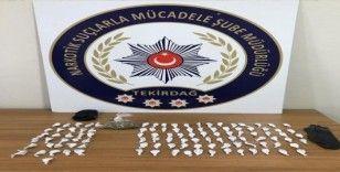 Çorlu'da uyuşturucu satıcılarına operasyon: 4 gözaltı