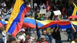 Kolombiya'da protestolar 3. haftasında