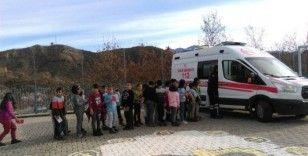 Tunceli'de Acil Sağlık Hizmetleri Haftası etkinlikleri