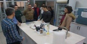 MTSO Çevre İSG çalışma grubu, MESKİ Merkez Su Analiz Laboratuvarını gezdi