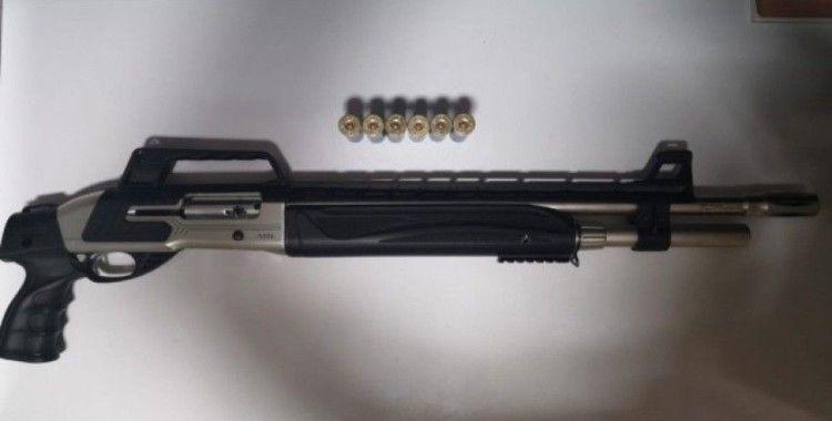 Polis asayiş uygulamasında 7 silah ele geçirdi