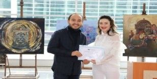 'Mevlana'ya Saygı 2 Sergisi' sanatseverlere kapılarını açtı
