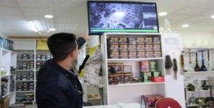 Siirt'te iş yerine giren hırsız suçüstü yakalandı
