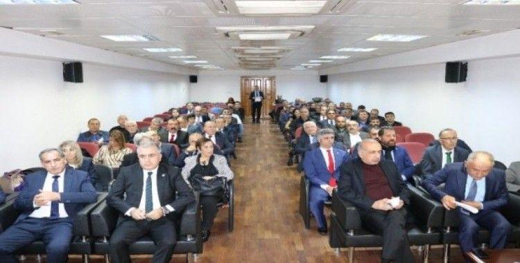 MHGF'nin 13'üncü sektörel iletişim toplantısı Diyarbakır'da yapıldı