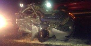 Kayseri'de feci kaza: 2 ölü 1 yaralı