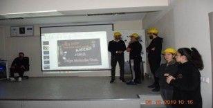 ERÜ Spor Bilimleri madencileri unutmadı