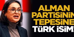 Alman partisinin zirvesine Türk isim!