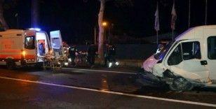 Bursa'da trafik kazası: 2'si ağır 10 yaralı