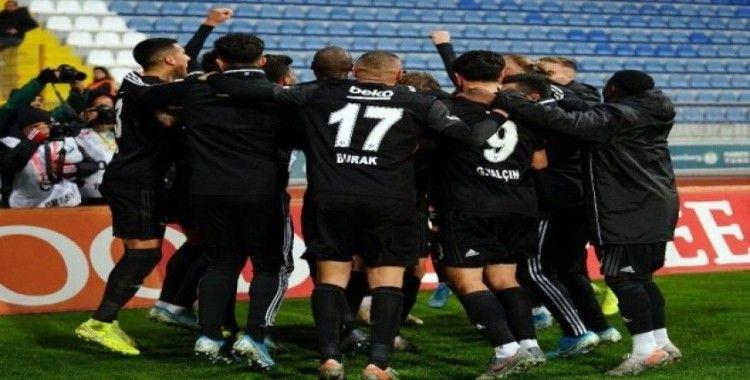 Beşiktaş 8 haftada 14 sıra yükseldi