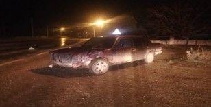 Kırşehir'de kaza 1 yaralı