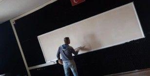 """Kaymakam Abbasoğlu: """"Öğrencilerimiz en iyi şartlarda eğitim almalı"""""""