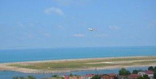 Ordu-Giresun Havalimanında 11 ayda 986 bin yolcuya hizmet