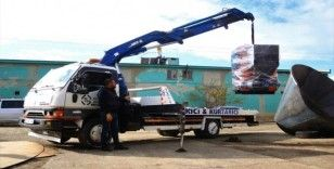 Van'da üretilen stokerli kazanlar bölge illerine gönderiliyor