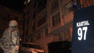 İstanbul'da silahlı suç örgütüne operasyon gözaltılar var