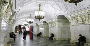 Rusya'da metro istasyonlarındaki tuvaletlere kamera takıldı
