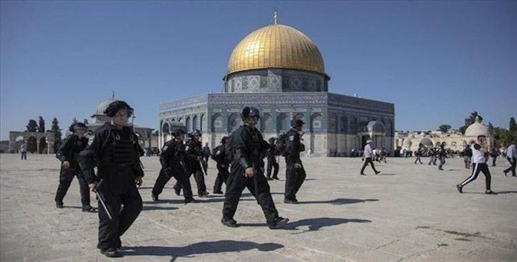 İsrail askeri, Mescid-i Aksa'nın güvenlik görevlisini gözaltına aldı