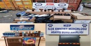 Gaziantep'te yılbaşı öncesinde eş zamanlı operasyonlar