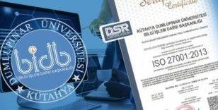 DPÜ Bilgi İşlem Daire Başkanlığına ISO 27001 Sertifikası