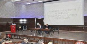 Silvan'da zümre toplantısı yapıldı