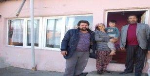 Çadırda yaşam mücadelesi veren aileye yardım eli