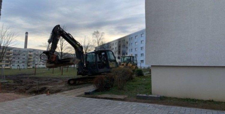 Almanya'da apartman dairesinde patlama: 25 yaralı