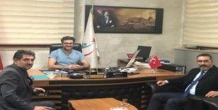 Ak Parti Bağlar İlçe Başkanı Gezer ve yönetiminden Baysal'a övgü