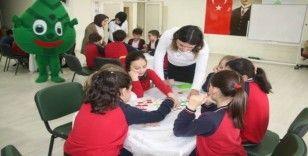 Küçük öğrenciler atıklarla ilgili bilgilendirildi