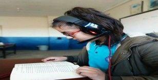 Mazıdağı'nda görme engelliler için Kitaplara Ses Ver Projesi başlatıldı