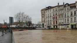 Fransa'da sel felaketi