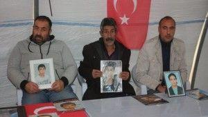 HDP önündeki ailelerin evlat nöbeti 105'inci gününde