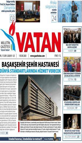 Güzel Vatan Gazetesi Sayı:124
