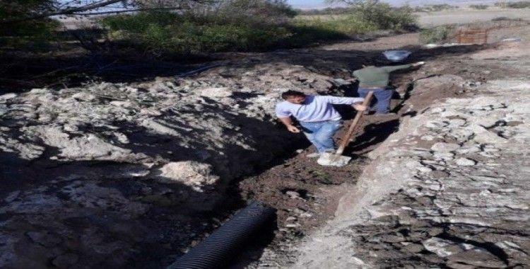 Ayvalıpınar köyünde içmesuyu ve kanalizasyon hattı yenilendi