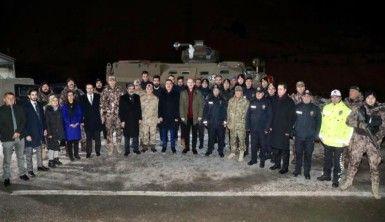 Bakan Soylu güvenlik güçlerinin yeni yılını kutladı