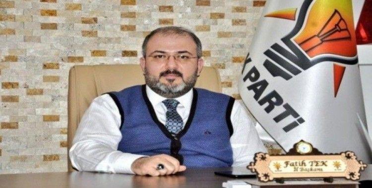 """AK Partili Tek: Libya tezkeresi Türk'ün gücünün Doğu Akdeniz'de demir yumruğudur"""""""