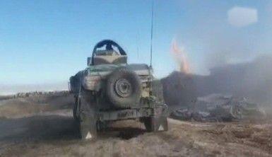 Taliban'a ait uyuşturucu madde üretilen tesisler imha edildi