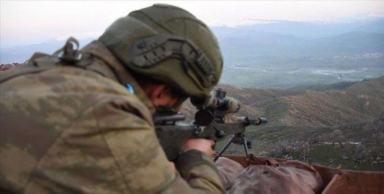 Irak'ın kuzeyinde 2 PKK'lı terörist hava destekli operasyonla etkisiz hale getirildi