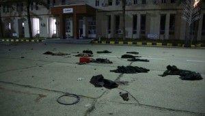 Trablus'ta askeri okula saldırı