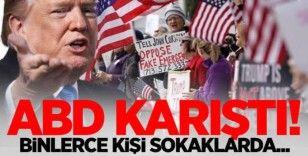 ABD'de halk İran'dan çekiniyor: Sokaklara döküldüler!